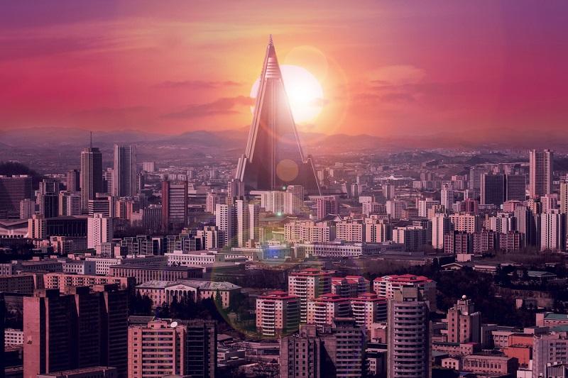 Ein futuristisches Hotel in Nordkorea steht seit vielen Jahren verlassen, aber es gibt Gerüchte, dass es bald seine Türen öffnen könnte