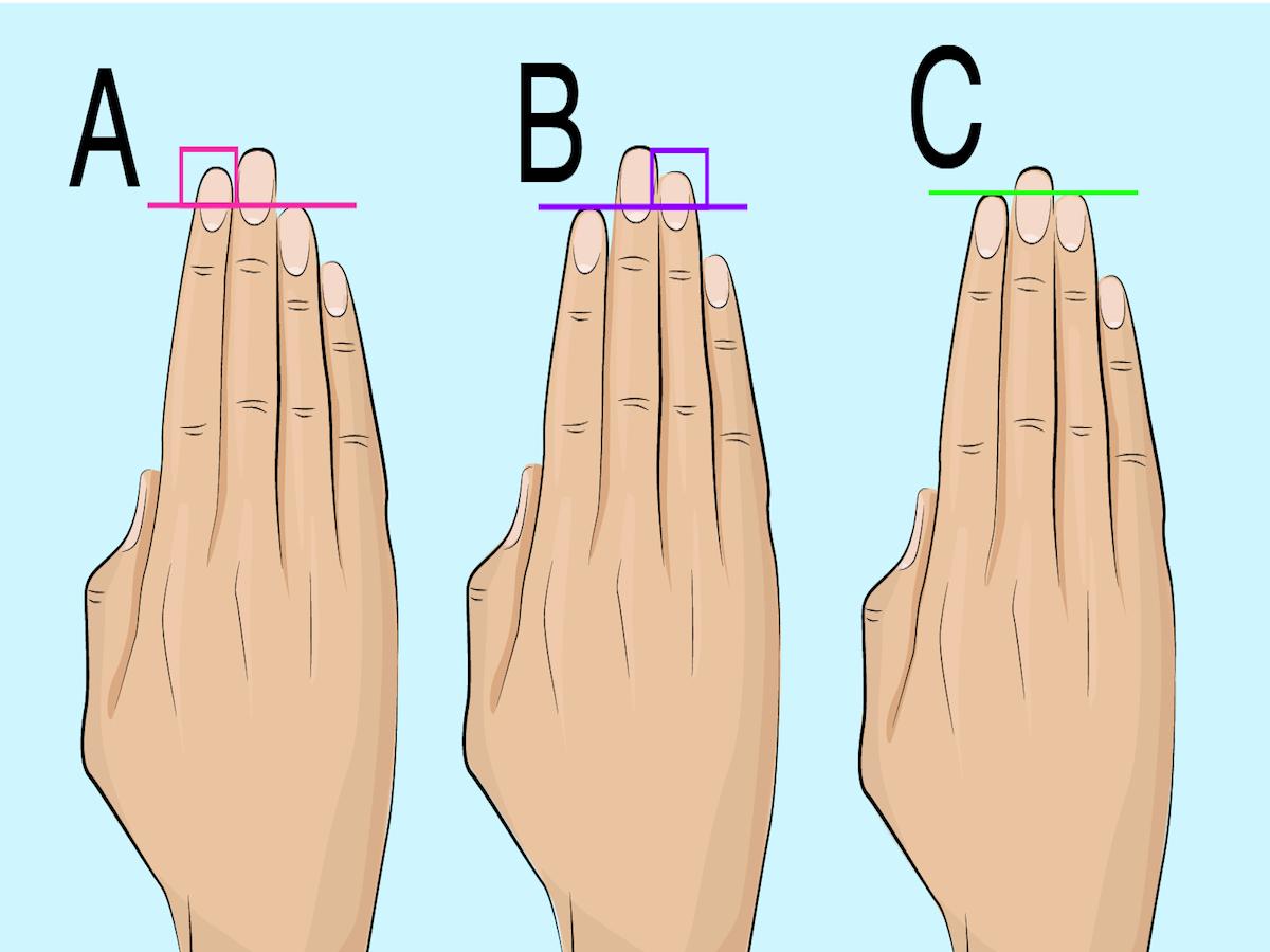 Dein Ringfinger und Zeigefinger verraten, ob du eine anziehende Person bist.