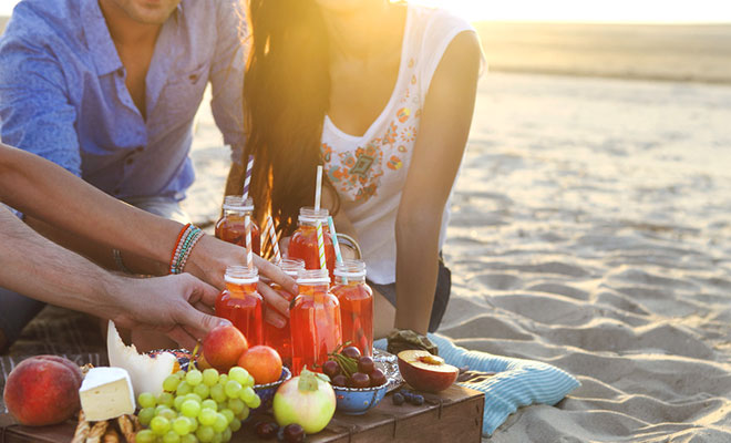 Sommerdrinks: Gesunde Frischekicks