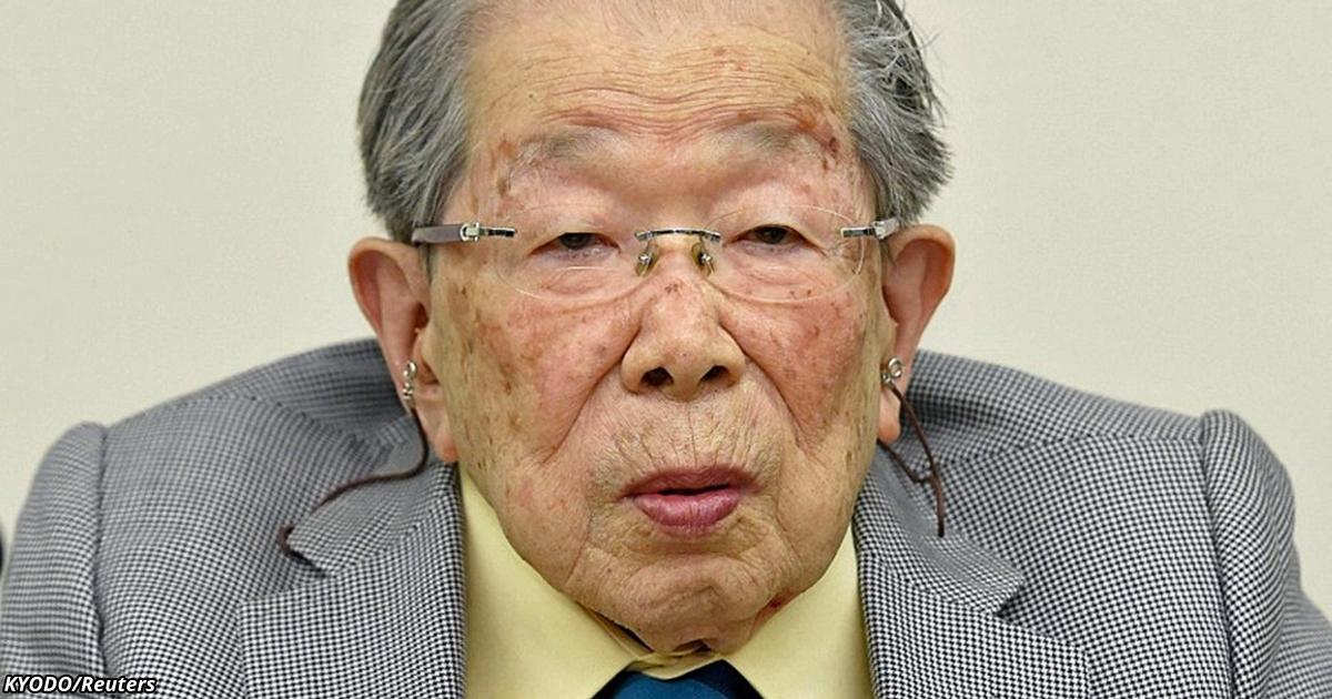 Ein japanischer Arzt, der noch mit 105 Jahren arbeitete, verriet kurz vor seinem Tod das Geheimnis seines langen Lebens