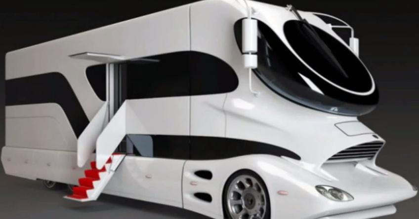 Das ist das luxuriöseste Campingmobil der Welt. Warte erst bis du es von innen siehst!