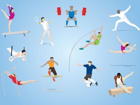 Für welche olympische Sportart bist du geeignet?