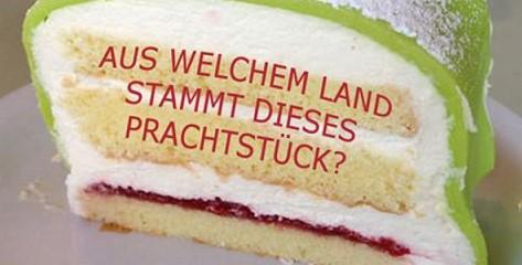 Das schaffen nur Experten: Ordne das Dessert dem richtigen Land zu!