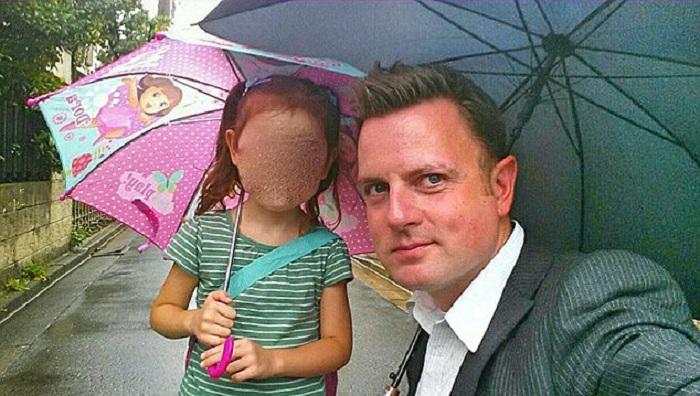 Mann schießt Foto seiner Tochter - und entdeckt Erstaunliches hinter ihr