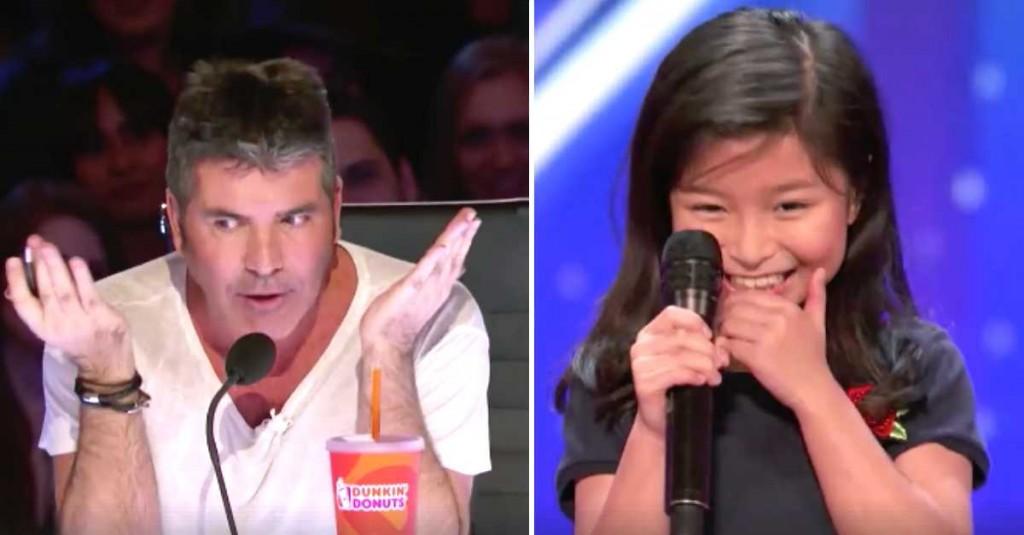 Simon erwartet von dem 9-jährigen Mädchen nicht sehr viel – aber dann überrascht sie alle mit ihrem Auftritt!