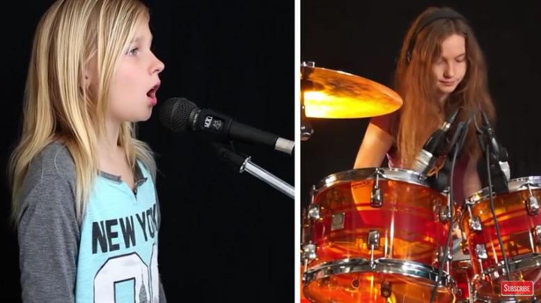 Das Mädchen ist erst elf Jahre alt – ihre Version von 'Sound of Silence' ist jedoch atemberaubend!