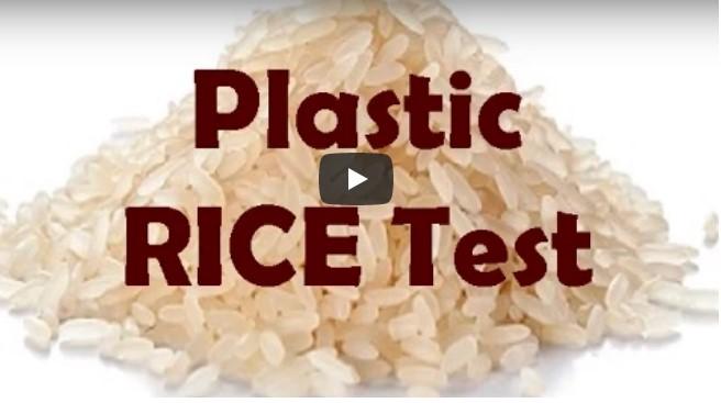Vorsicht, China macht Reis aus Plastik- hier siehst du wie du es erkennst!