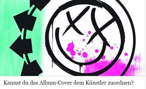 Kannst du das Album Cover dem Künstler zuordnen?