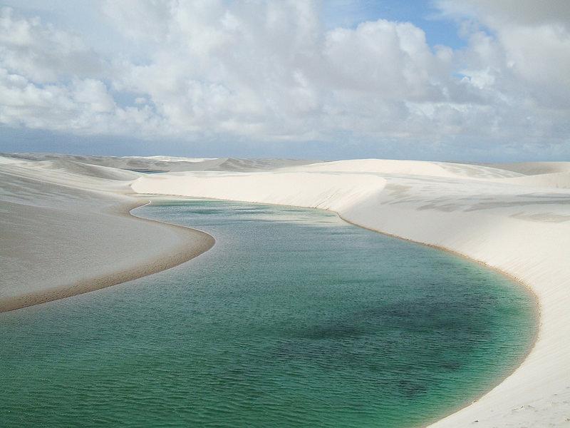 Jedes Jahr in Brasilien tritt dieses Naturphänomen auf, das jedem Besucher den Atem raubt