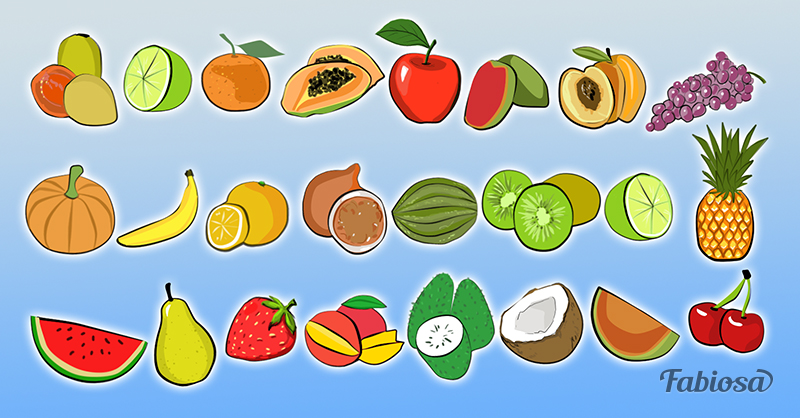 Testen Sie Ihre geistige Flexibilität ! Schauen Sie sich die Früchte genau an und Sie werden sehen, dass eine wiederholt auftaucht
