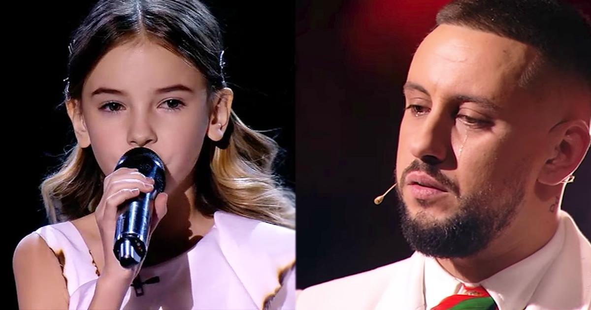 Als sie sang, konnte das Publikum die Tränen nicht zurückhalten ... Es ist so schön.
