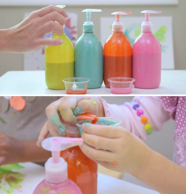 Die besten Tricks, um das Basteln mit Kindern zu erleichtern.