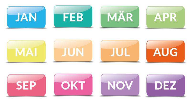 Es heißt, Dein Geburtsmonat enthülle alles über Dich. Meiner ist Juni und hat den Nagel auf den Kopf getroffen. Wähle Deinen Monat...
