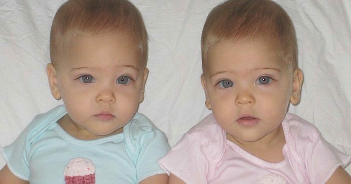 Eineiige Zwillinge wurden 2010 geboren: Jetzt sind sie fast 8 Jahre alt und werden als