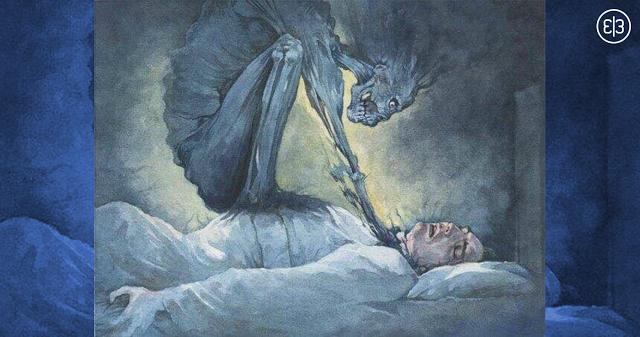 Bist du jemals aufgewacht und konntest dich nicht bewegen? Das ist es, was es bedeutet