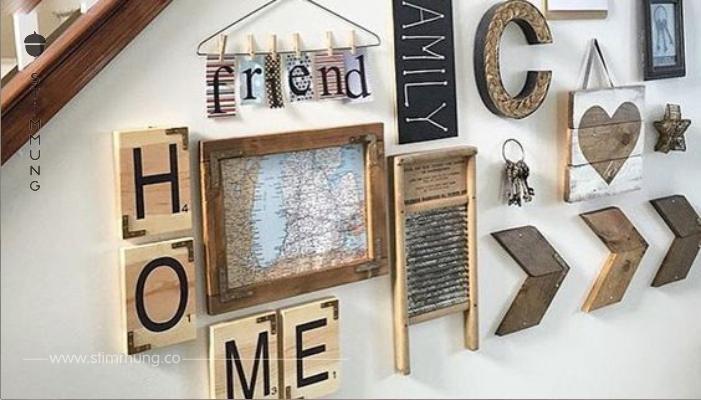weg mit der langweiligen leeren wand schauen sie sich hier 10 kreative ideen an mit denen sie. Black Bedroom Furniture Sets. Home Design Ideas