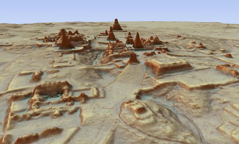 Wissenschaftler entdecken alte versteckte Maya Stadt im Dschungel Guatemalas