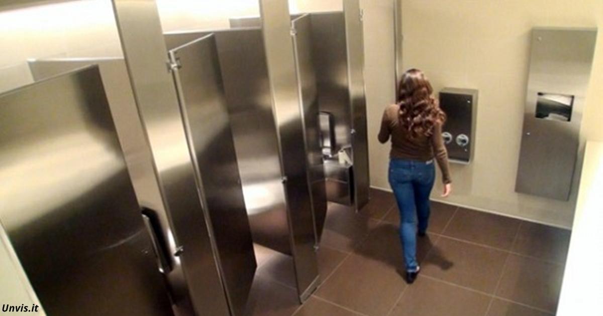 Wenn Sie DAS in einer öffentlichen Toilette sehen - sofort fortgehen!