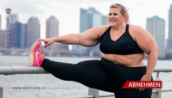 Sie dachte, sie müsse sich wegen ihres Gewichtes schämen – dann kam die Bekleidungsfirma auf eine geniale Idee