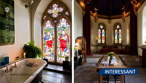 Diese Familie verwandelte eine verlassene Kirche aus 1790 in ein liebevolles Zuhause