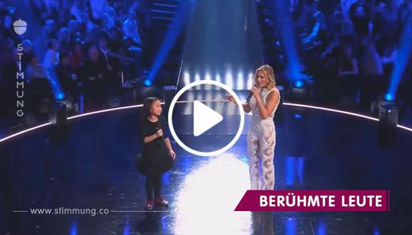"""Helene Fischer singt gemeinsam mit 10-Jähriger """"You Raise Me Up"""" – Sekunden später haben wir Gänsehaut"""