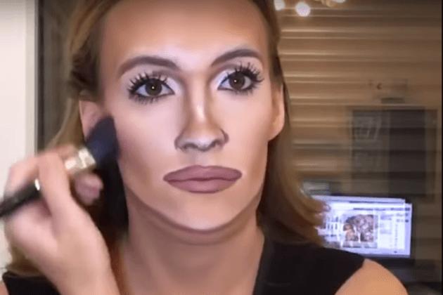 Ein Mädchen mit Make-up kann sich in jeden Hollywood-Star verwandeln!