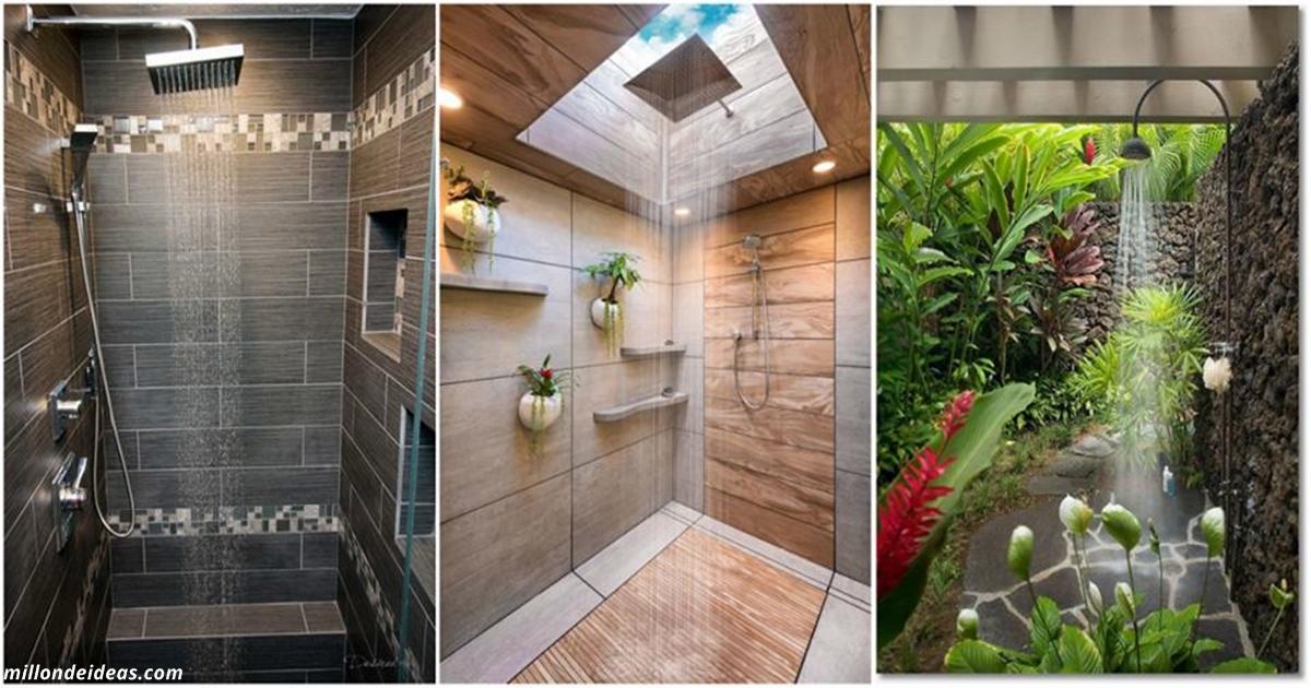 16 tolle Ideen für ein Badezimmer. Das einfache Duschen wird zu einem richtigen Ritual werden