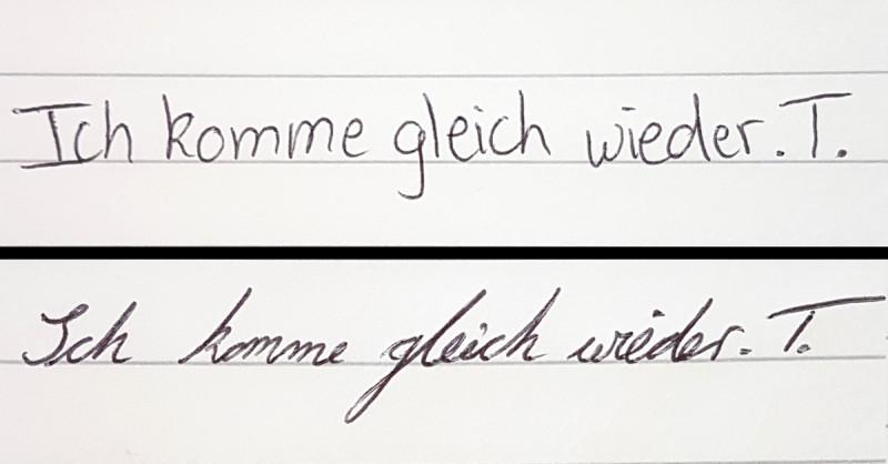 Das verrät deine Handschrift über dich.