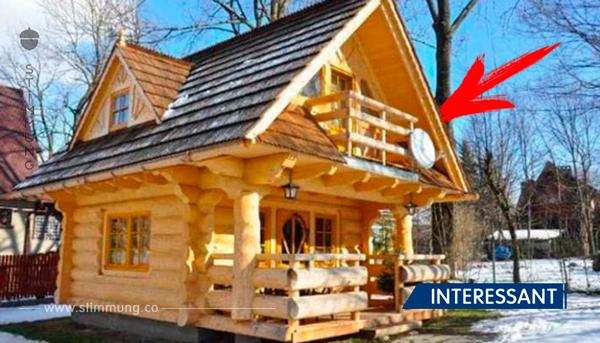 Dieses gemütliche kleine Häuschen ist kaum 28m3 groß. Sobald Sie es betreten möchten Sie auch eins haben!
