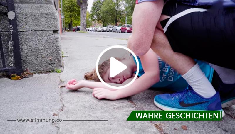Trotz mehrfacher Anfälle: Kranke 20 Jährige läuft Marathon.