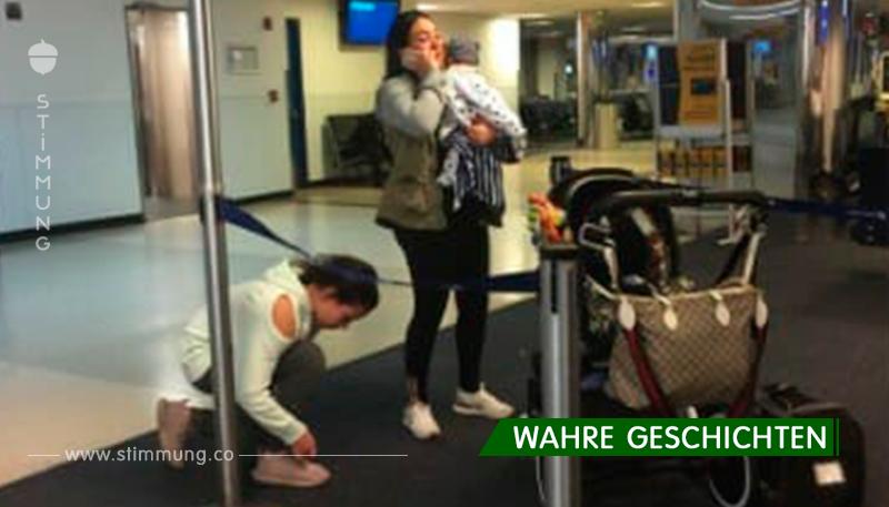 Flugbegleiter zwingen die Familie, ihren Hund in die Gepäckablage zu stecken – als sie landen, ist er tot
