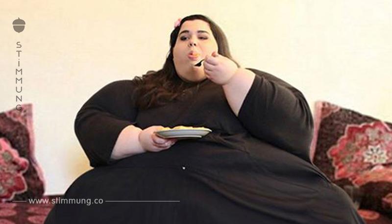 Als die 24-Jährige 298 kg erreichte, wollte sie sich verändern – so sieht sie 120 kg leichter aus!