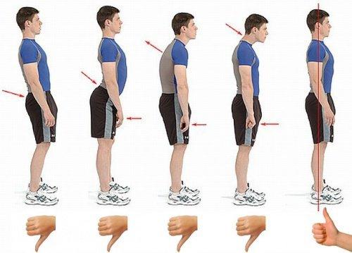 6 Techniken für eine gerade Haltung