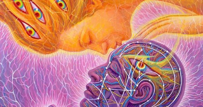 Kuss des dritten Auges
