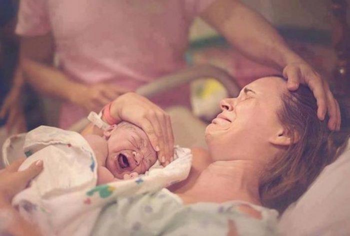 Die Ärzte haben gesagt, dass sie ein kranken Baby bekommen werden...