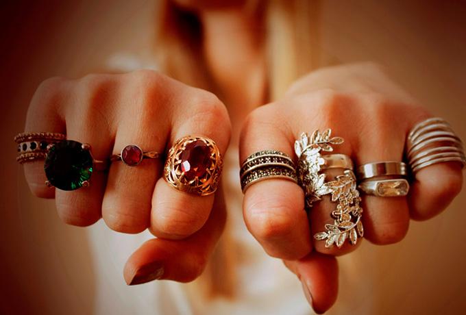 Wähle einen Ring, der dir am besten gefällt, und finde heraus, was für eine Frau du bist!