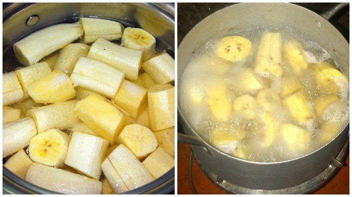 Kochen Sie Bananen vor dem Schlafen, trinken Sie dieses Getränk, und das Ergebnis wird Sie überrachen