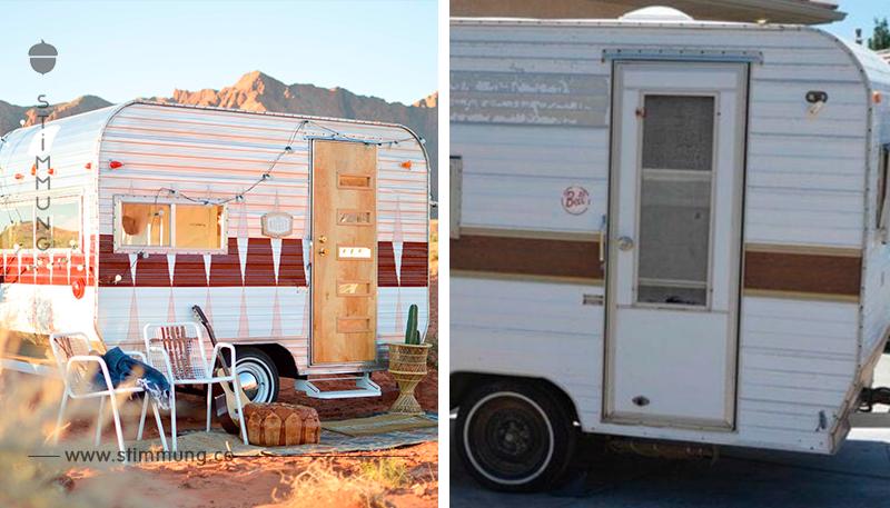 Sie kauft einen Wohnwagen für 1000 Dollar – und verwandelt ihn ins das allergemütlichste Zuhause