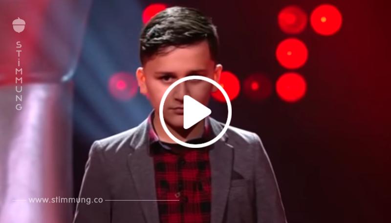 Der 13-Jährige singt ein Lied von Celine Dion – und die Jury fliegt beinahe aus ihren Stühlen