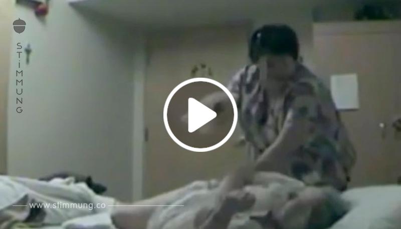 Er vertraute der Pflegerin seiner Mutter nicht, weshalb er eine versteckte Kamera installierte: Was die aufzeichnet, bricht unser Herz