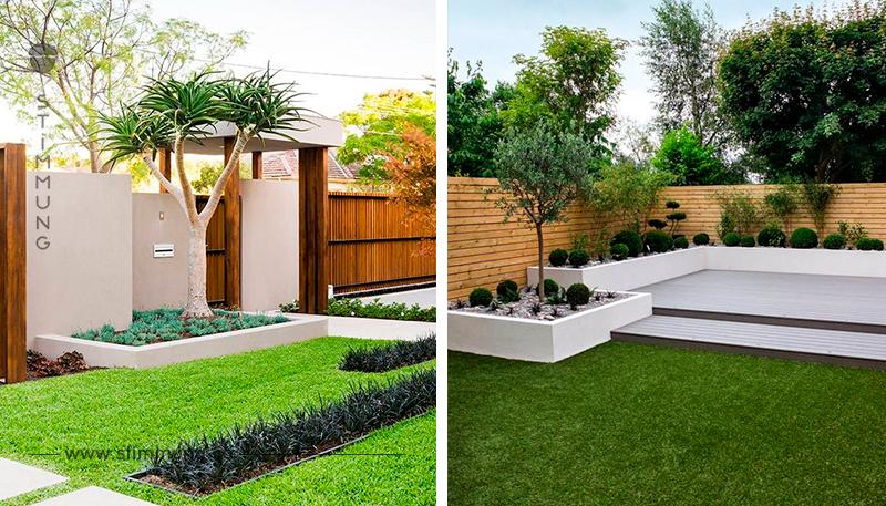 Kleine Gärten müssen nicht unbedingt öde sein! Schauen Sie sich diese 13 Beispiele mal an!