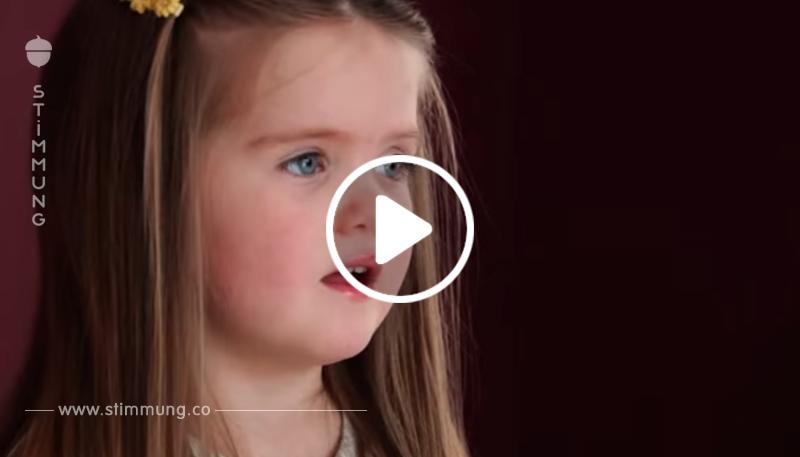 Das Mädchen ist erst drei Jahre alt – aber als der Frisör ihre Haare schneidet, erteilt sie uns eine Lektion!