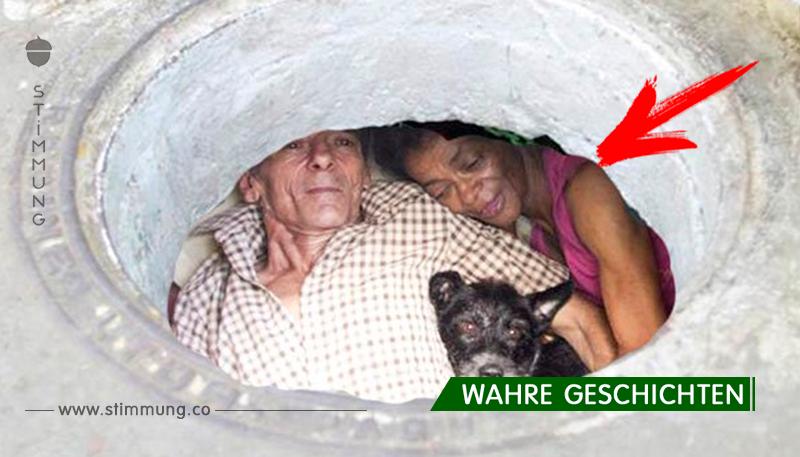 Dieses Paar lebt seit 22 Jahren in der Kanalisation. Aber sieh nur, was drin ist! Gib niemals auf!