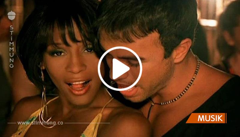 Atemberaubendes Duo! Whitney Houston und Enrique Iglesias — «Could I Have This Kiss Forever»