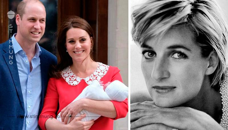 Nur Stunden nach der Geburt ehrte Kate Prinzessin Diana – mit einem unglaublichen Detail