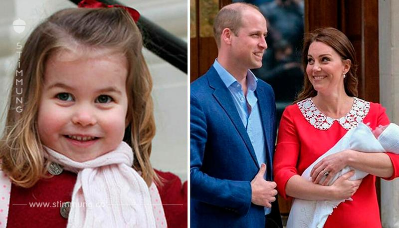 Prinzessin Charlotte hat Geschichte geschrieben, als Kate gebar – und keiner merkte es!