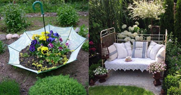 Sind Sie Schon Im Garten Beschäftigt Gewesen? Wir Haben Einige Wirklich Schöne  Garten Deko Ideen, Die Ihren Garten In ...