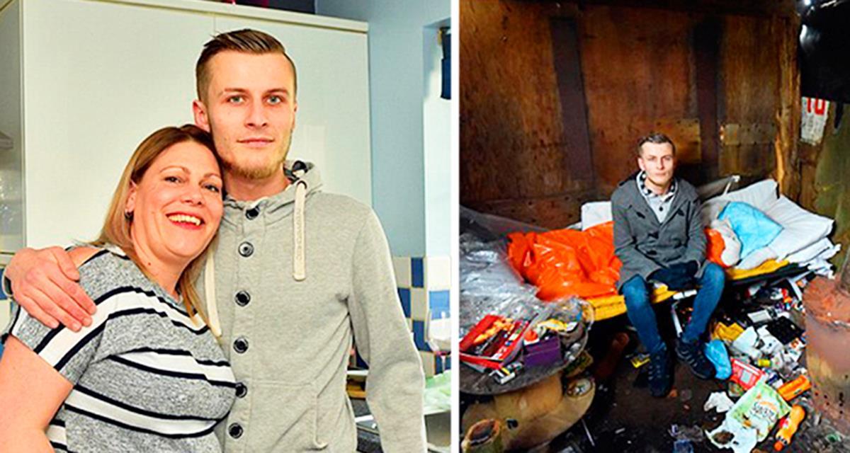 Niemand gab ihm die Chance, ein normales Leben zu führen, nur sie, die Mutter von drei Kindern, konnte ihn nicht in der Kälte auf der Straße bleiben lassen!