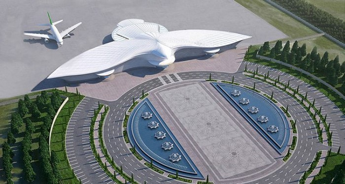 Dieser Flughafen fasziniert die ganze Welt! Eine echte Perle der Architektur!