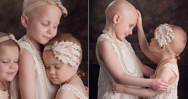 Diese 3 Mädchen, die gegen den Krebs ankämpfen, posierten 2014 für ein Foto – so sehen sie heute aus
